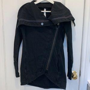 Lululemon Black Sweater Jacket Size 2